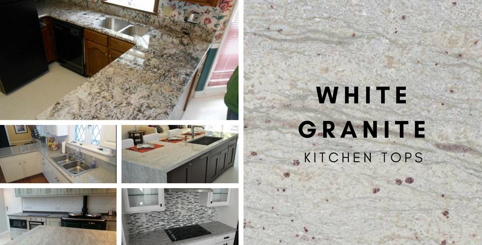 White Granite Countertops Colors River White Alaska White Flodeal Inc