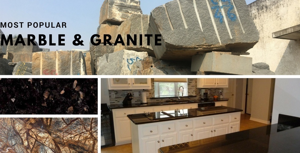 Popular Indian Granite and Marble