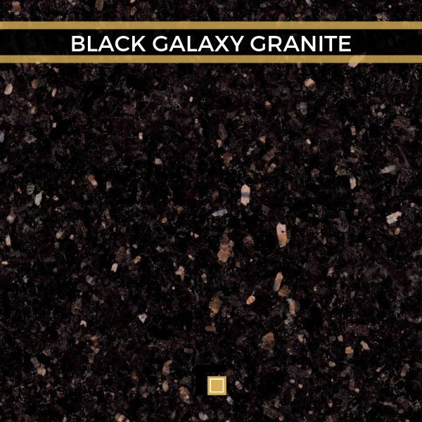 Black Galaxy Granite Star Galaxy