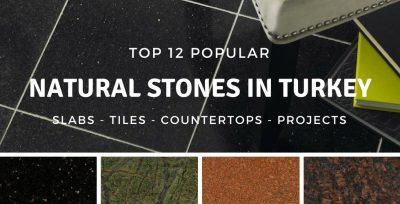 ყველაზე ბუნებრივი ქვები თურქეთში