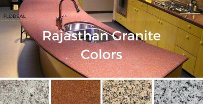 Rajasthan Graniet Kleuren