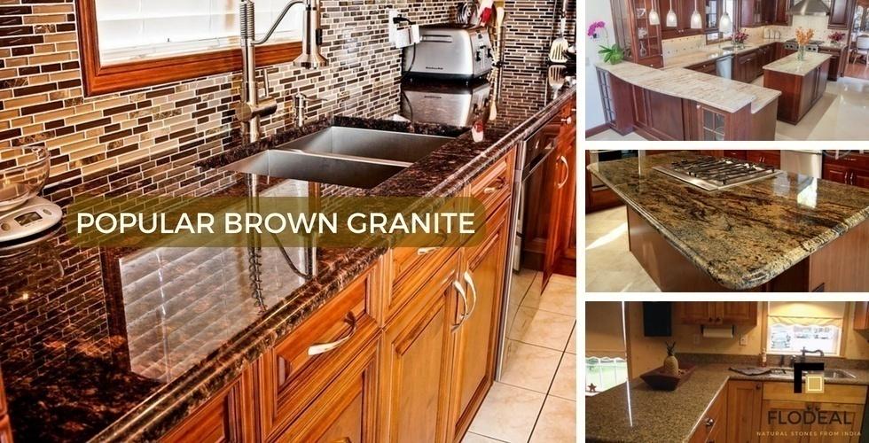 Brown Granite India