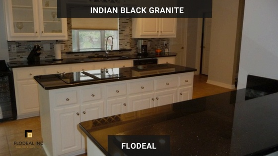 South Indian Granite Colors Absolute Black