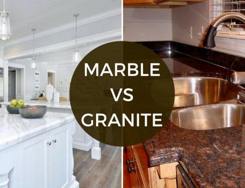 Primerjava marmor in granit