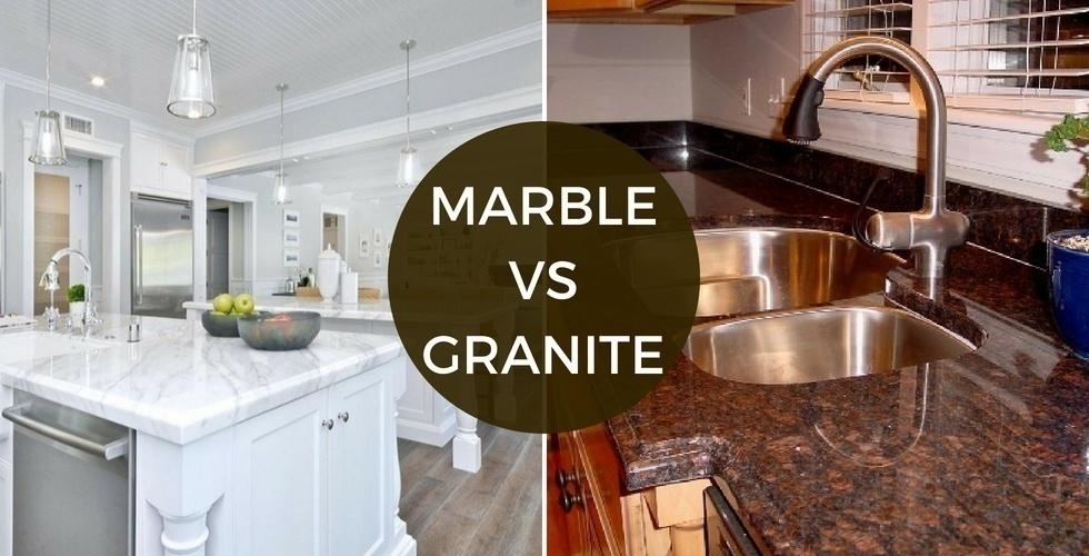 Marbre vs Granite | Durabilité Gamme de prix Apparence Stain