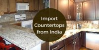 Import granit mermer kuarc countertop india