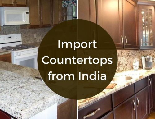 Carane Ngimpor Countertops Kitchen saka India