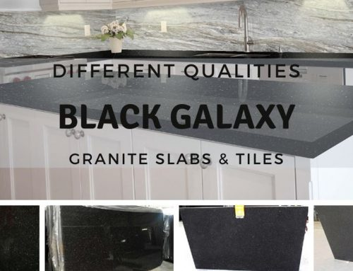 Different Qualities Black Galaxy Granite