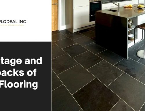 Advantage and drawbacks of slate flooring