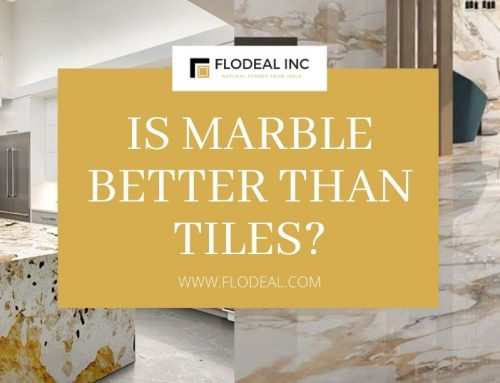 Is marble better than tiles?